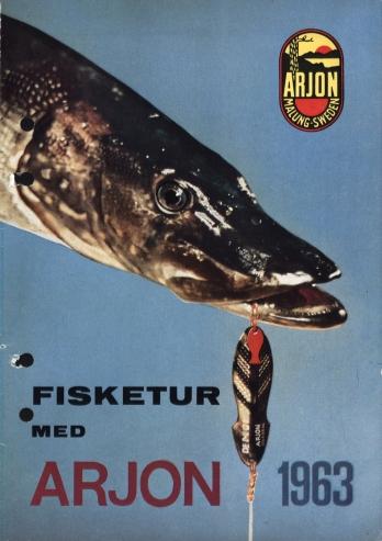 Arjon Fisketur med Arjon 1963