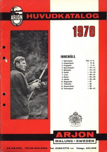 Arjon Huvudkatalog 1970