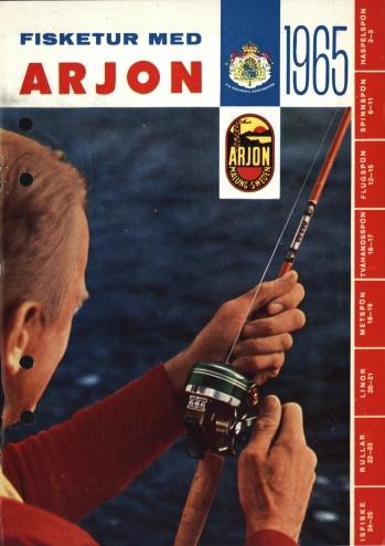 Arjon Fisketur med Arjon 1965