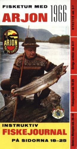 Arjon Fisketur med Arjon 1966