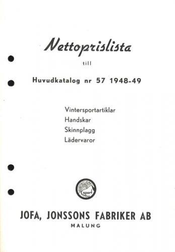 JOFA_Huvudkatalog 1948 prislista vintersport 0691