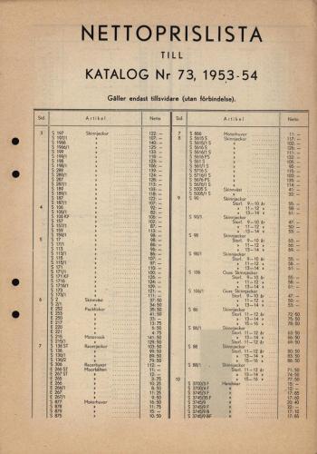 JOFA_Huvudkatalog 1953-54 nettoprislista 0344