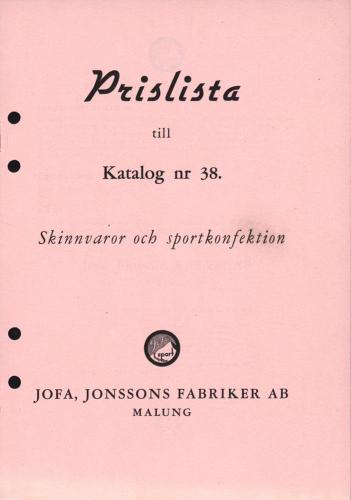 JOFA_Huvudkatalog 1944 prislista 0610