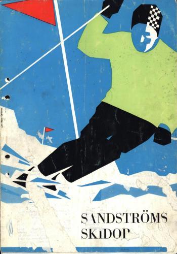 JOFA Oskar Alpint Sandströms skidor