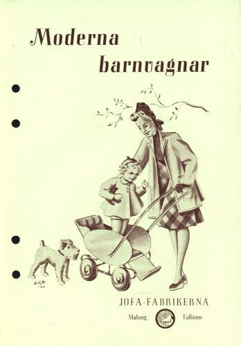 JOFA Oskar Barnvagnar