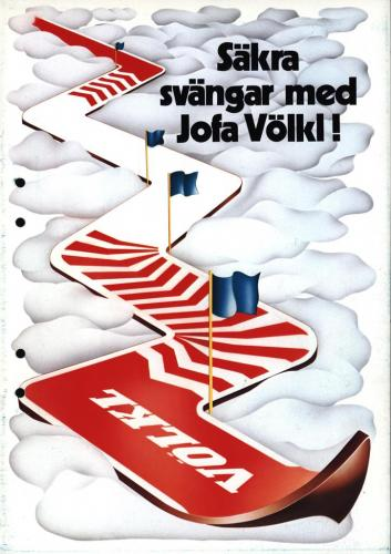 JOFA Volvo Alpint Völkl ski 0153