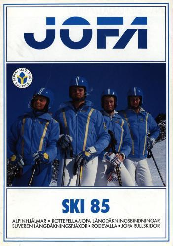 JOFA Volvo Alpint ski 85 0182