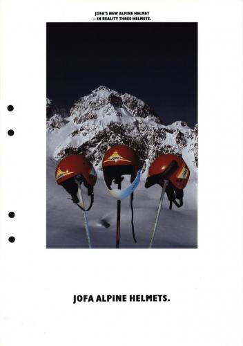 JOFA Volvo Alpint Alpine helmets 0196