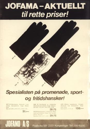Jofama Handskar 0477
