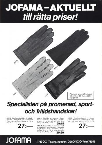 Jofama Handskar 0514
