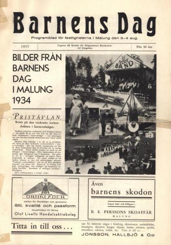 1935 Barnens dag 01