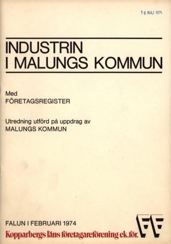 1974 Industri i Malungskommun 01