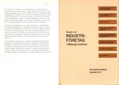 1974 Industri i Malungskommun 23