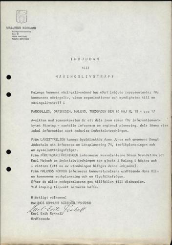 1974 Industri i Malungskommun 31
