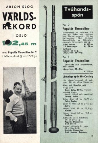 Arjon Fisketur med Arjon 1962 Sid23