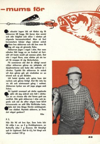 Arjon Fisketur med Arjon 1963 Blad25