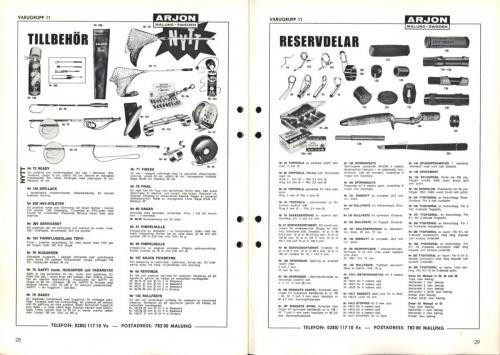 Arjon Huvudkatalog 1970 Blad15