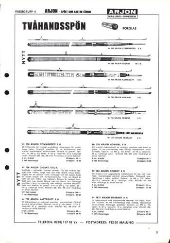 Arjon Huvudkatalog 1971 Blad 09