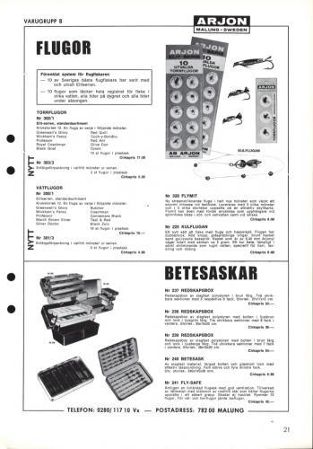 Arjon Huvudkatalog 1971 Blad 21