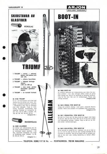 Arjon Huvudkatalog 1971 Blad 29