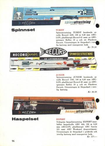 Arjon Napp och nytt 1961 Blad100