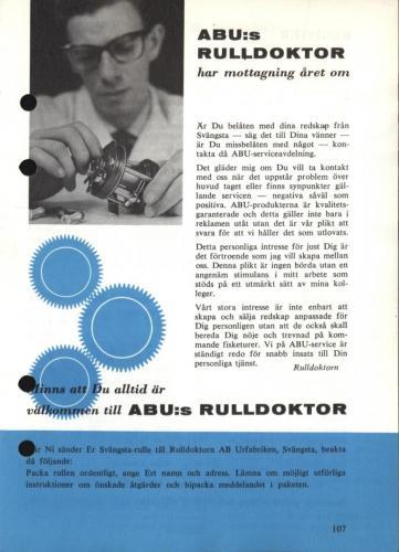 Arjon Napp och nytt 1962 Blad109