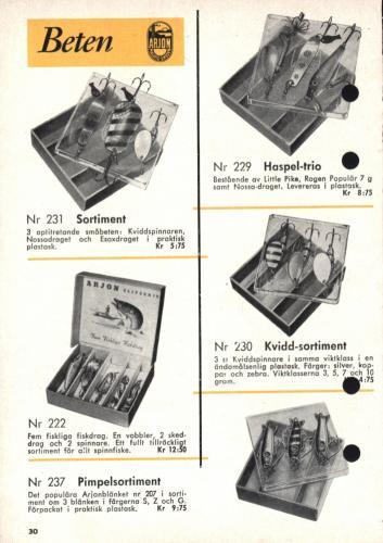 Arjon På fisketur med Arjon 1960 Blad33