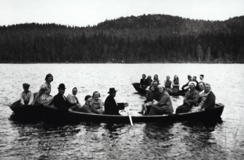 Båt Älgsjöselen