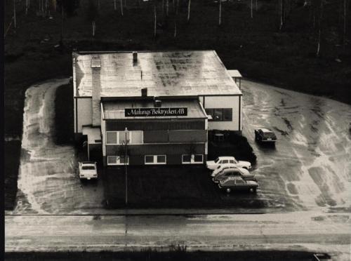 Boktryckeriet Innan utbyggnad som gjordes 1975