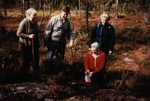 Brovägen Oxåskällan Ingeborg, Gottfrid, Här Karin och Elvy
