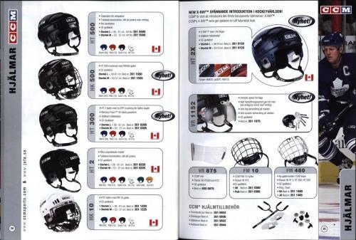 Ccm jofa koho hockeyutrustning 2002 Blad12