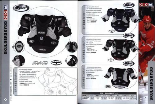 Ccm jofa koho hockeyutrustning 2002 Blad14