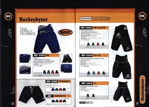 Ccm jofa koho hockeyutrustning 2002 Blad46