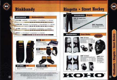 Ccm jofa koho hockeyutrustning 2002 Blad49