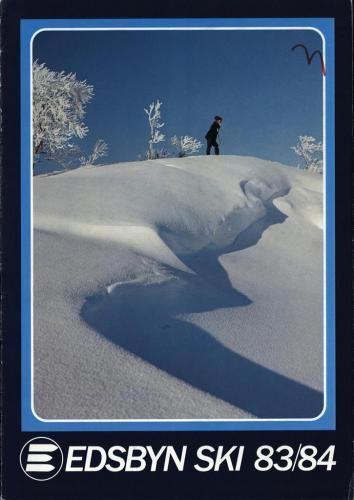 Edsbyn ski 1983-84 Blad01