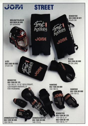 Inline street hockey Jofa 96 Blad03