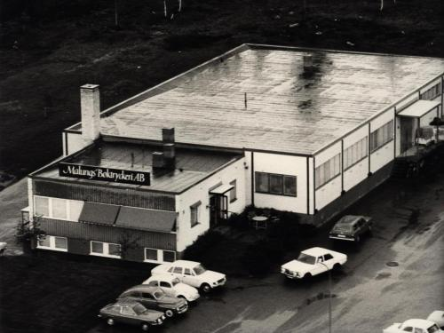 Innan utbyggnad som gjordes 1975