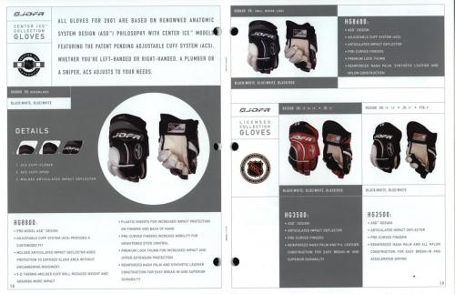 JOFA-katalog Canada 2001 Blad10