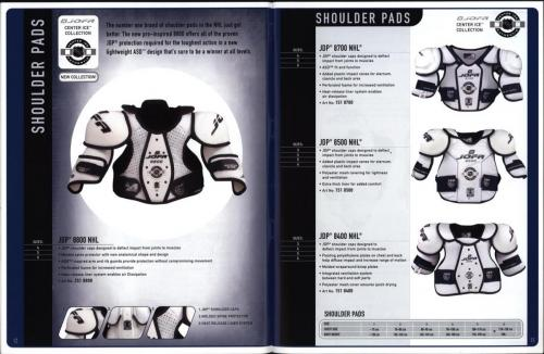 JOFA smart 2001 ice hockey eqipm 07