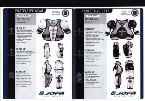 JOFA smart 2001 ice hockey eqipm 10