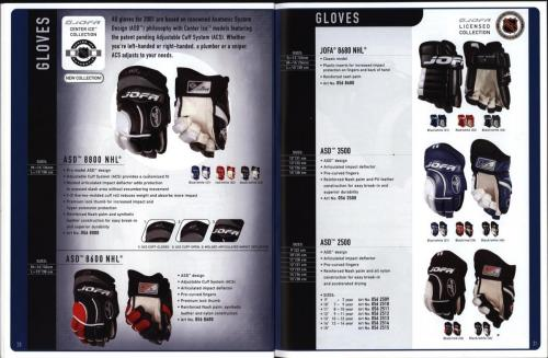 JOFA smart 2001 ice hockey eqipm 11
