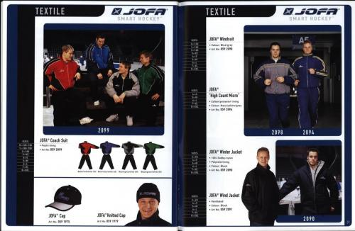 JOFA smart 2001 ice hockey eqipm 15