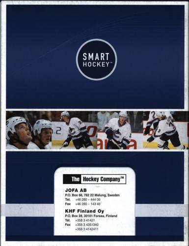 JOFA smart 2001 ice hockey eqipm 17