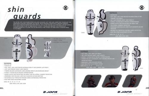 JOFA smart hockey 2004 equipm 07