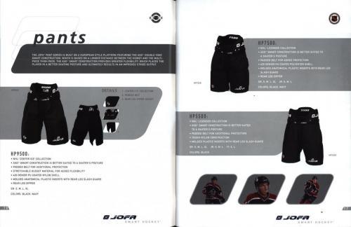 JOFA smart hockey 2004 equipm 10