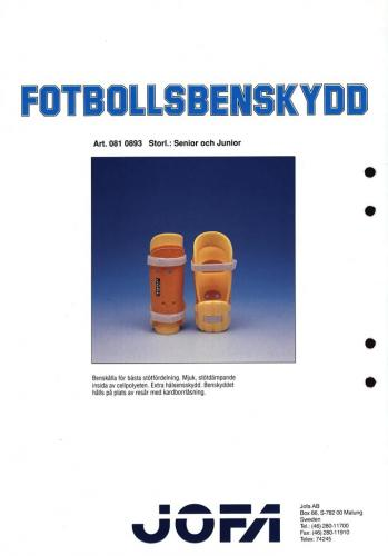Jofa 2000 fotbollsbenskydd 02