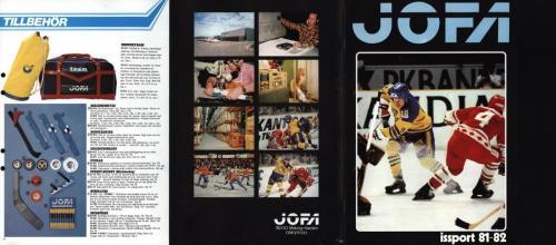 Jofa Hockey 1981-82 blad10-11