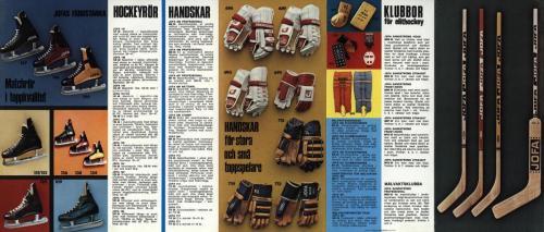 Jofa VM-hockey 1973-74 Liten broschyr 03