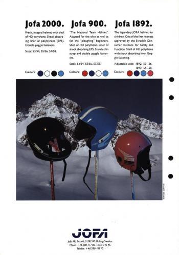 Jofa alpine helmets 03