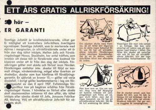 Jofa campingguide 1963 Blad11